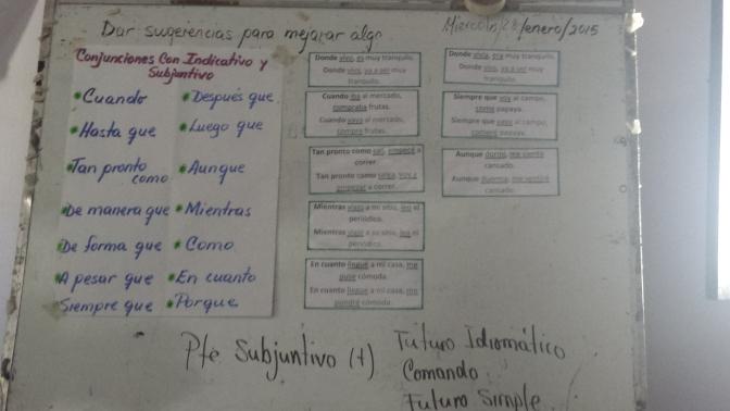 Transformation, Conjugation, & <i>Taller de Español</i>