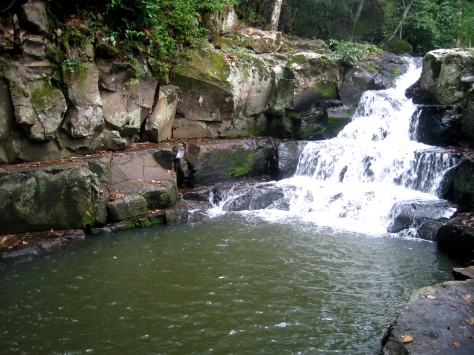 Waterfall in Miraflor