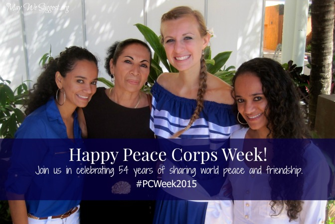 Happy Peace Corps Week!