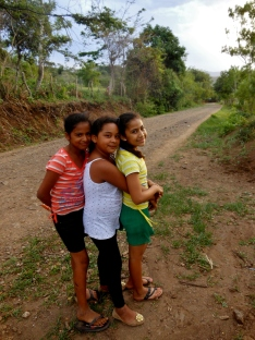 """On an afternoon walk with some of the girls I've been working with weekly for the past year."" - Alba"
