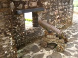 Cannon at El Castillo