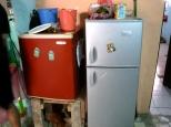 sharing two fridges
