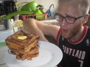 Regardless of where it originates, Andrew LOVES food!