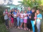 The youth group that Anna had in Miraflor