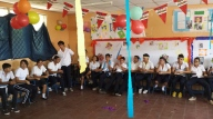 11A classroom decorated for my party