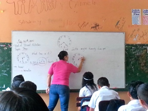 Ana Teaching
