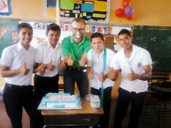 Andrew's First Nica Birthday