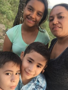 Mariela and family