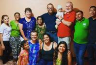 The size of your heart is limitless; there's always room for more #family. #hostfamily #heartroom #peacecorpsnicaragua #gringopinolero #inlaws #nicaragua #peacecorpsfamily #bloggingabroad #BAphotochallenge