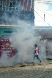 #INeverKnew how dangerous #mosquitoes were. In the tropics, OFF just doesn't cut it. #peacecorpsnicaragua #publichealth #zika #dengue #chikungunya #malaria #bloggingabroad #BAphotochallenge