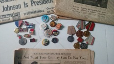 Co-founder of the Sandanista youth movement, Masters of Soil Engineering from Ukraine, and all around handyman extraordinaire, our host cousin has led quite the eclectic life. Though now apolitical, he has quite the #collection of political memorabilia from the US, USSR, and Nicaragua. #peacecorpsnicaragua #jfk #warmedals #oldpapers #bloggingabroad #BAphotochallenge