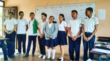 As teachers of English teachers, one of our goals is to help our counterparts raise the level of student participation in their classes. Each year we help them hold a singing competition in which groups learn and perform in English. This group of 8th graders is rocking #cantfeelmyface. #peacecorpsnicaragua #peacecorps #teacherlife #howiseepc #school #bloggingabroad #BAphotochallenge #atleasttheydidntsingbytheriversofbabylon
