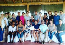 It's hard to believe that our #peacecorpsnicaragua Close of Service Conference is here! While @mandrewnilsen and I are extending until next March, our TEFL64 compañer@s are getting ready to head their separate ways. This #community has been through a lot together. I'm thankful for our collective treasure trove of #stories and that each of you will forever understand why this beautiful land of lakes and volcanoes is so dear to my heart. #peacecorps #SomethingILove #Nica64 #howiseepc #cos #bloggingabroad #BAphotochallenge